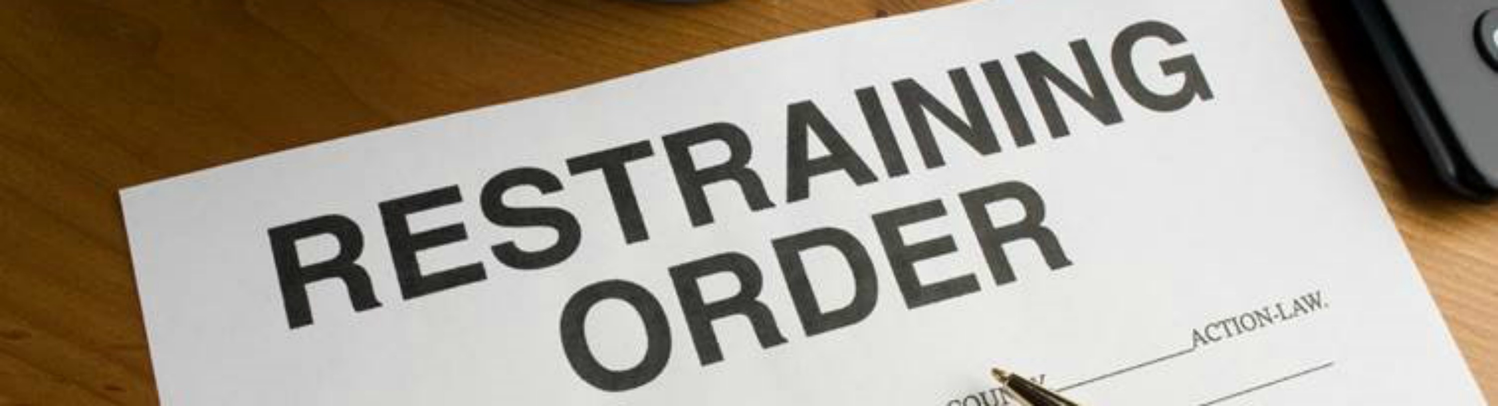 An attorney for protective order and/or restraining orders